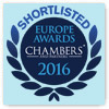 Chambers 2016 Shortlisted